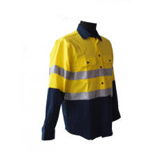 High visibility day and night use working shirt